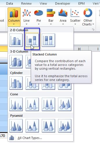 Microsoft Excel - skala1