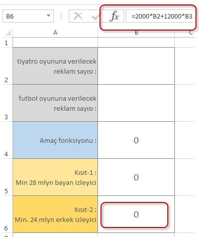 Kisit 2 Formulu