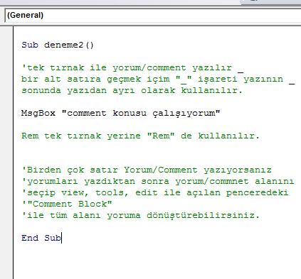 Microsoft Visual Basic for Applications - comment konusu.xlsm
